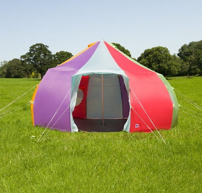 Glamping Trem-Y-Fro Luna Festival Tent